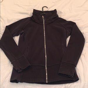 Lululemon cuddle up jacket black